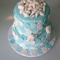 Beach Themed Birthday Cake Beach themed birthday cake