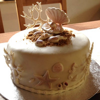 Chocolate Cake With Filling Of Ganache Of White Chocolate chocolate cake with filling of ganache of white chocolate