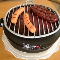 Birthday Cake For My Husband A True Weber Fan Birthday-Cake for my husband, a true Weber-Fan ;-)