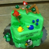 My Sons Birthday Cake