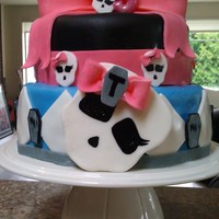 Monster High Cake Monster High Birthday Cake!