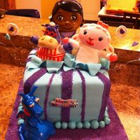 Doc Mcstuffins Birthday Cake Doc Mcstuffins birthday cake for my daughter's 2nd birthday