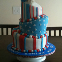 4Th Of July Birthday Cake 4th of July birhtday cake