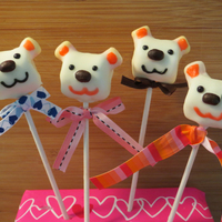 Valentine's Marshmallow Bear Pop By Sparked Ideas I made a video tutorial on how to make this bear pop! Please see my profile for relevant links. You'll find a list of ingredients...