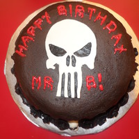 The Punisher Cake The Punisher cake