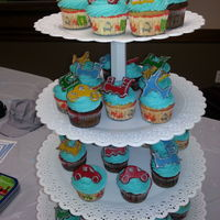 Planes Trains And Automobiles Cupcakes For Boy Baby Shower Planes trains and automobiles cupcakes for boy baby shower.