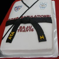 Ata Black Belt Cake I Make This Cake Every Testing Cycle For Our Karate School To Celebrate When Someone Receives Their Black Belt ATA Black Belt cake. I make this cake every testing cycle for our karate school to celebrate when someone receives their black belt.