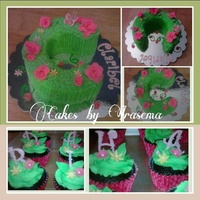 Cupcakes & Cakes Letter C Cake