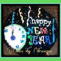 Holiday-New Year New Year Cake