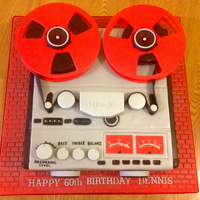 A 60Th Reel To Reel Birthday Cake A 60th Reel to Reel Birthday cake!