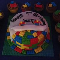 Another View Of Lego Cake *another view of lego cake