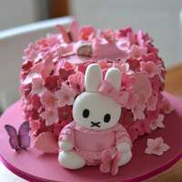 Miffy Baby Shower Cake