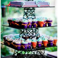 Eiffel Tower Mini Pots * This is the cupcake stand I designed for my sister engagement party. Starting new business in Perth, Australia this year 2013 to hire...