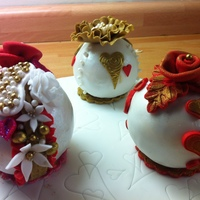 First Time Making Bauble Cakes My Idea For Valentines Day First time making bauble cakes my idea for valentines day