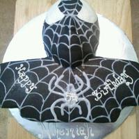 Black Spiderman 3D all edible