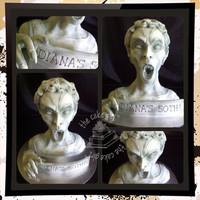 Movie Props *Weeping Angel from Doctor Who recreated to get revenge!