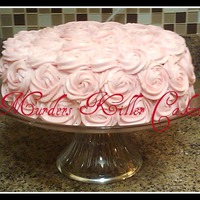 Rose Swirl Cake For My Baby Girl Haddi   Rose swirl cake for my baby girl, Haddi.