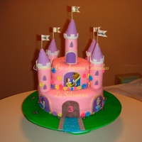 Castle Cake   Princess Castle Cake - For more cake creations visit our Facebook page: Amazing Cakerellas