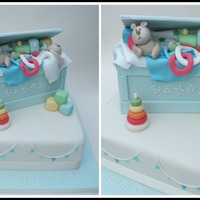 Sally Waugh Christening Cake