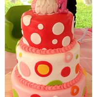 Owl First Birthday Party  Super Strawberry with Strawberry Buttercream, Very Vanilla with Traditional Buttercream, Pucker Up Lemon with Lemon Buttercream. Covered in...