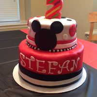 Cakes By Kass Mickey Mouse cake for my nephew!