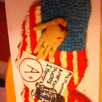 Cake I Made For My American Studies Teacher Cake I made for my American Studies Teacher