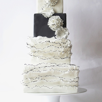 Wedding Cake Inspired by the designs of MARCHESA