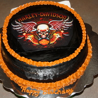 Harley Davidson Birthday Cake For My Husband