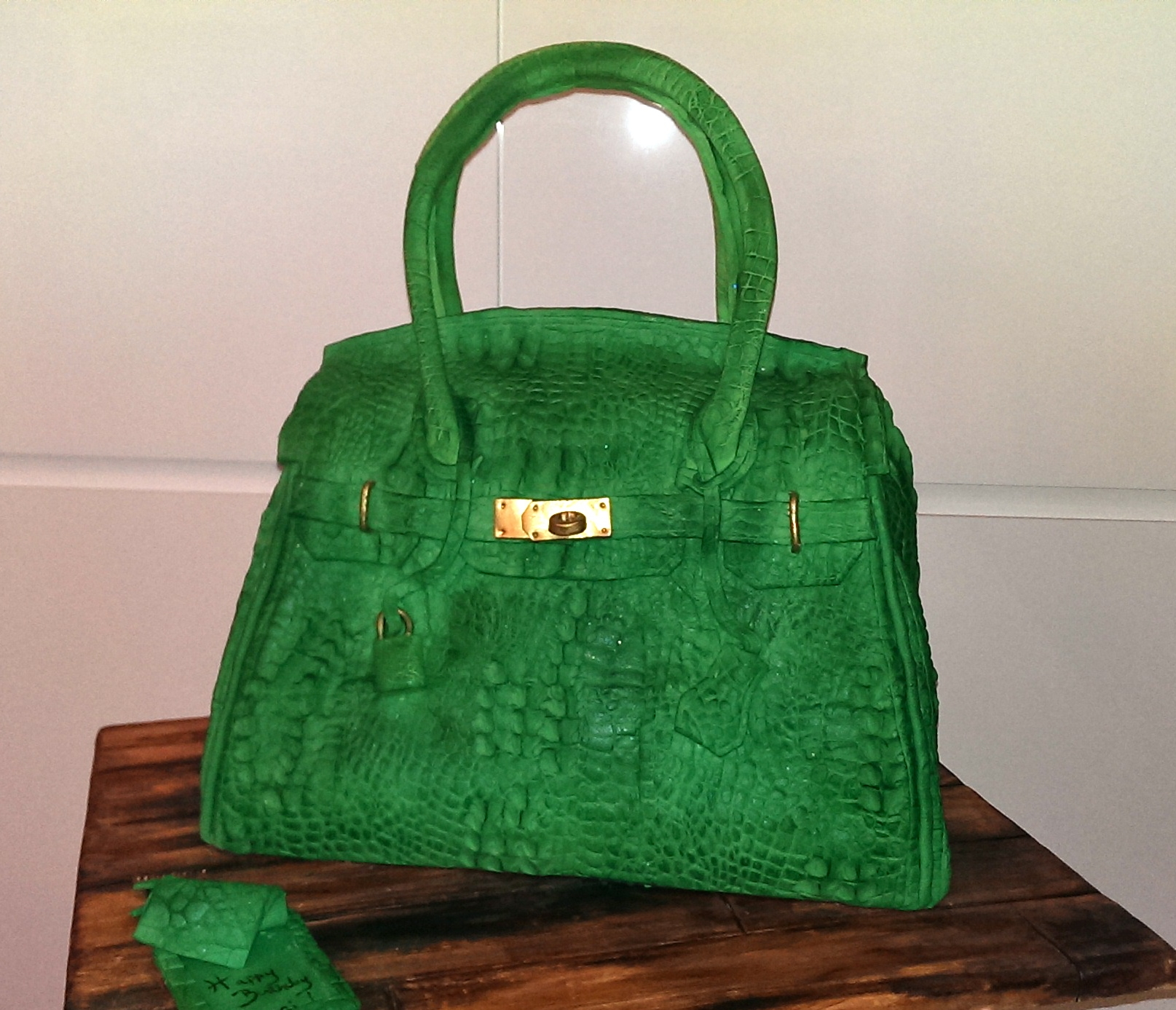 Green Alligator Hermes Bag