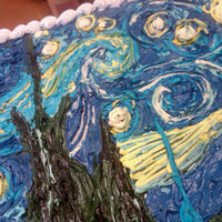 All Buttercream Starry Night All buttercream Starry Night