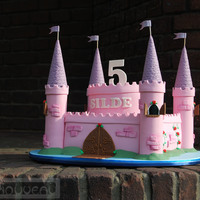 Girls Castle Cake 1