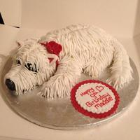 Sweet Treats And Fancy Cakes By Jodie *my first attempt at a doggie cake :-)