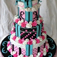 French Hatbox Cake