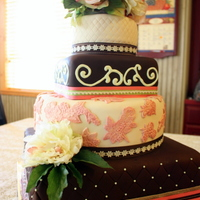 Chocolate / Vanilla Vintage Country Cake