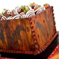 Western Wild Horses Cake With Edible Wood Panels Amp Chocolate Covered Strawberries Wwwfacebookcomvintagekitchencakes Western Wild Horses Cake with Edible Wood Panels & Chocolate Covered Strawberries. www.facebook.com/vintagekitchencakes
