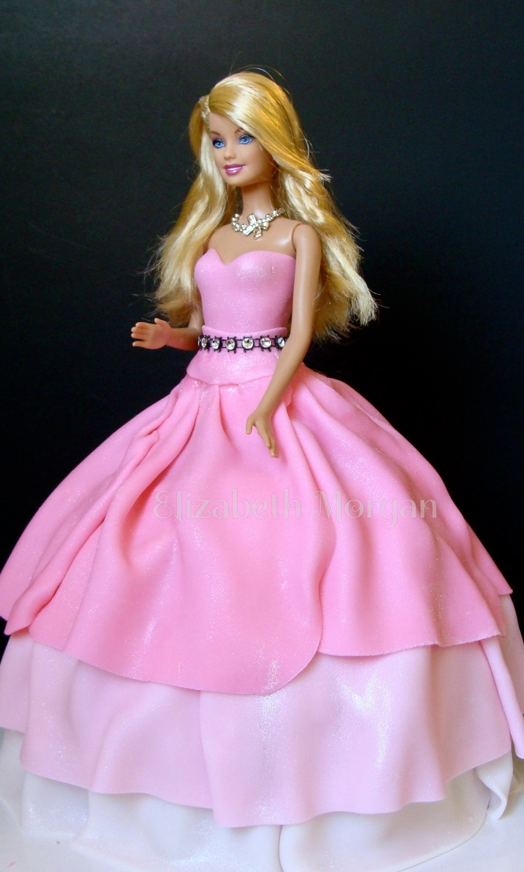 Barbie Cake Barbie never goes out of style. I made this cake for my grand-daughter.