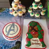 Avengers/ninja Turtles Twins Birthday   *