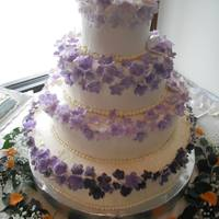 My First Wedding Cakes. *a better closer shot