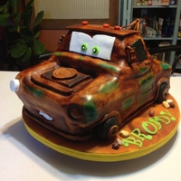Tow Mater Birthday Cake: This Cake Is 100% Edible