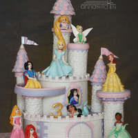 Disney Princess Castle Present are Rapunzel of the luscious hair, fairest of them all Snow White, Cinderella the belle of the ball, tiny Tinkerbell, Mulan the...
