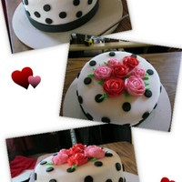My First Cake Ever My Husband And I Did This One On Valentines Day I Have Wanted To Do Cakes For Years So For Valentines He Surprise Me MY FIRST CAKE EVER!!!! My Husband and I did this one on Valentines day! I have wanted to do cakes for years so for Valentines he surprise...
