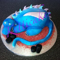 Dragon Cake By Kitticakes