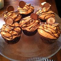 Reeses Peanut Butter Cupcakes Chocolate Cupcake With Peanut Butter Filling Peanut Butter Cocoa Frosting Drizzled In Chocolate And Topped Reese's Peanut Butter Cupcakes. Chocolate cupcake with peanut butter filling, peanut butter cocoa frosting drizzled in chocolate and...
