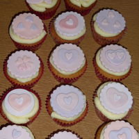 St Valentines Day Cupcakes Lemon Sponge With Lemon Buttercream And Sugarpaste Toppers My First Attempt At Making Toppers   St Valentine's Day Cupcakes. Lemon sponge with lemon buttercream and sugarpaste toppers. My first attempt at making toppers.
