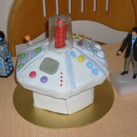 "My Husbands 41St Birthday Cake 8 Chocolate Hexagonal Sponge On Top Of 6 Hexagonal Chocolate Dr Whos Tardis Console More Of A Ret My husband's 41st birthday cake. 8"" chocolate hexagonal sponge on top of 6"" hexagonal chocolate. Dr Who's TARDIS..."