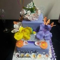 18Th Birthday Cake My Niece Wanted A Mixture Of Flowers Had Problem With The Weather And Flowers Started To Wilt But She Was Very Happy   *18th Birthday Cake my niece wanted a mixture of flowers, had problem with the weather and flowers started to wilt but she was very happy