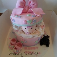 First Baby Shower Cake With Baby Spelt Wrong Can Not Claim The Design Just My Adaption Of It Wish I Had Come Up With Suck A Wonderful De First baby shower cake (with baby spelt wrong). Can not claim the design just my adaption of it. Wish I had come up with suck a wonderful...