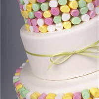 Marshmallow Cake This was a fun cake we designed for Hunter Valley Wedding Planner Magazine back in 2008