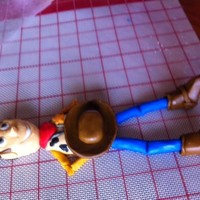 Woody From Toy Story Fondant Woody from Toy Story - fondant