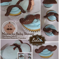 Mustache Baby Shower Mini Baby Bump Cake For Mom To Be And Chocolate Mustache Cupcakes The Cake Was Vanilla With Brown And Blue Sprinkle Mustache Baby Shower. Mini baby bump cake for mom to be and chocolate mustache cupcakes. The cake was vanilla with brown and blue sprinkles...